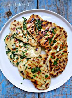 Garlic flatbread de Jamie Oliver