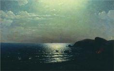 Fishing on the Black Sea - Arkhip Kuindzhi - WikiPaintings.org