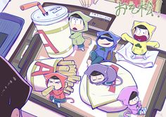 |This will be the last I call them cute...cause I'm embarrassed to call them that.| Osomatsu-san