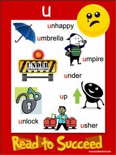 Short u Beginning Sound Wonders Kindergarten unit 8 week 3