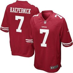 Youth Nike San Francisco 49ers Colin Kaepernick Game Team Color Jersey