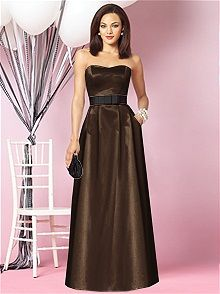 After Six Style 6630 #brown #bridesmaid #dress