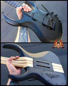 We're glad to welcome our newest artist to the Esoterik Guitars artist roster, Ty from TRAPT! Ty just claimed the last new semi trans satin black DR2 that we had in stock. We're now officially out of these new black DR2's before we even had a chance to get them on the website for direct order. We'll have more in stock soon!