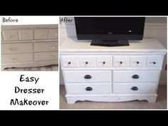 Happy At Home: Updated Dresser