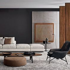 5 Diligent Clever Tips: Minimalist Home Plans Minimalism minimalist interior concrete living rooms.Minimalis House Minimalist Home Interior Design vintage minimalist decor apartment therapy. Contemporary Interior Design, Home Interior Design, Interior Architecture, Design Interiors, Contemporary Style, Interior Ideas, Contemporary Wallpaper, Interior Office, Contemporary Office