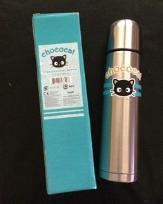 NEW Sanrio Chococat Stainless Steel Lunch Bottle Tumbler Mug Thermos Cup Office
