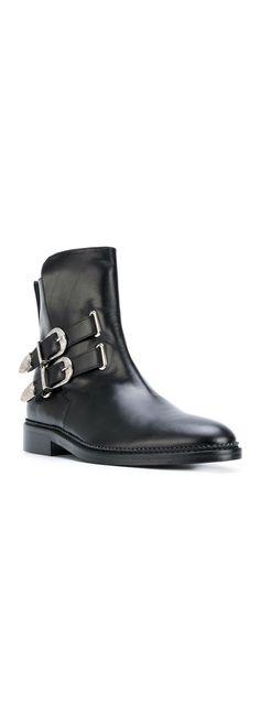 Toga Virilis buckle boots, explore new season boots on Farfetch now.
