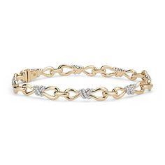 Colin Cowie Diamond Infinity Bracelet in 14k Yellow Gold (3/4 ct. tw.)