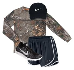 """""""Happy Saturday!"""" by lacrosse-19 on Polyvore featuring Realtree, Nike Golf and NIKE"""