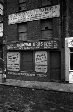 497 S Brick, Brick Lane, East End London, Old London, London Street Photography, London History, Soup Kitchen, Shop Fronts, London Photos