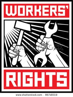 Workers Rights Hammer and Lock USSR Soviet Union Political Slogan Sticker Decal Design X -- Awesome products selected by Anna Churchill Workers Union, Workers Rights, Political Slogans, Refugees, Labor Rights, Facing Fear, Propaganda Art, Communist Propaganda, Labor Union
