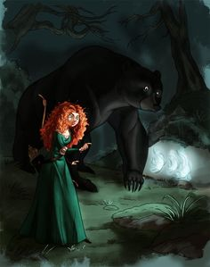 coloring book page - Merida and queen elinor by naima on deviantART