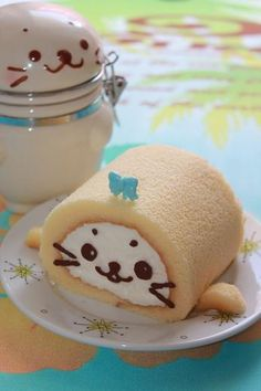 😍 Kawaii japanese desserts are the best Japanese Food Art, Japanese Cake, Japanese Sweets, Cute Desserts, Delicious Desserts, Baking Desserts, Sashimi, Tempura, Dessert Chef