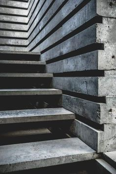 Beautiful stairs by a unknown artist Marble Stairs, Concrete Stairs, Stairs Architecture, Architecture Details, Landscape Architecture, Luigi Snozzi, Decks, Beautiful Stairs, Stair Detail