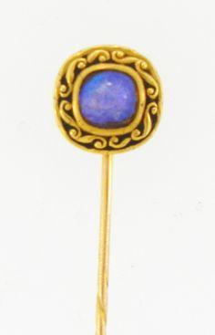 Stick Pins | DK Bressler | Art Nouveau Opal