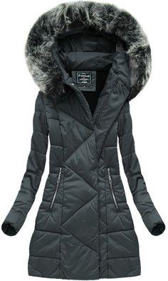 602b0f092fef4 44 najlepsze obrazy z kategorii Kurtki zimowe | Winter, Black i Coat ...