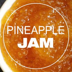 Jelly Recipes, Jam Recipes, Canning Recipes, Sweet Recipes, Pineapple Jam, Pineapple Marmalade Recipe, Fresh Pineapple Recipes, Mango Recipes, Haut Routine