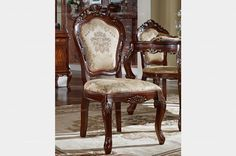 American style armless dining chair - MelodyHome.com
