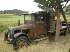 """I saw this old truck parked in a field off E. Louie Road near Montague last Friday."" The photographer."