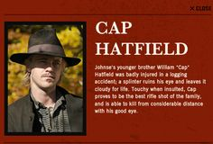Who Played Cap Hatfield | You can catch the three part series starting on Monday, on the History ...