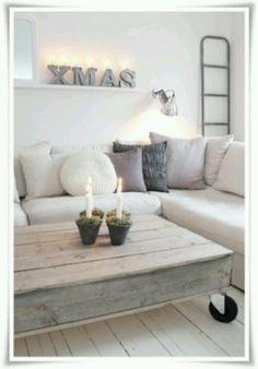 Woonkamer - Gerepind door www.gezinspiratie.nl #woonspiratie #interieurtips #woonkamer