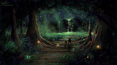 magic forest tumblr - Pesquisa Google