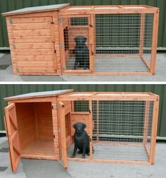 to build a dog kennel white trimmed how to build a dog kennel dog. Black Bedroom Furniture Sets. Home Design Ideas