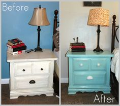 10 Minute Lamp Makeover