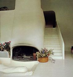 """860 Likes, 6 Comments - Moon To Moon (@moontomoon) on Instagram: """"Maison Verley, architect: Henri Mouette, sculptor: Pierre Székely, 1972 """""""