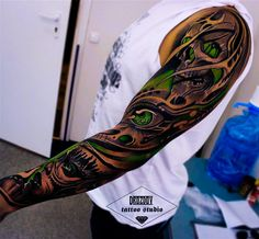 Artist - Vladimir Drozdov, Studio - Drozdov Tattoo Studio, Location - Moscow-Russia. http://instagram.com/world.oftattoo/