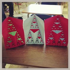 What will *YOUR* students do the day before break? How about making these 3-D Fractal Pop-Out Cards?