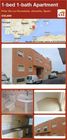 Apartment for Sale in Pilar De La Horadada, Alicante, Spain with 1 bedroom, 1 bathroom - A Spanish Life
