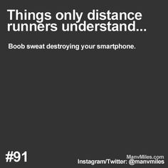 62fe9e7f09664 Things only runners understand The sports bra seems like a good place to  keep it at the time. Runner Problems  Things only runners understand…