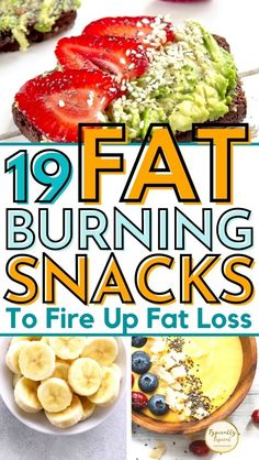 Healthy Food To Lose Weight, Healthy Foods To Eat, Healthy Snacks, My Fit Foods, Foods High In Fat, Foods High In Fiber, Best Snacks, Best Diet Foods, Snacks Ideas