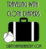 @Sarah Hollis... because I don't seem to have any of the new moms-to-be on my list. Tips for traveling with cloth diapers by air and car plus my super secret way to sneak cloth diapers on a plane without paying extra.