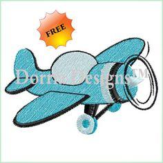 {Planes Trains & Auto's- dorria-designs-422 K.H.}  plane embroidery design