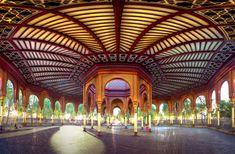 El Kiosco Morisco, símbolo arquitectónico de Santa María La Ribera