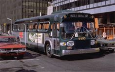 Click to view full size image New Bus, Grey Dog, Nyc Subway, Bus Ride, Rhythm And Blues, Busses, Car Wheels, Rear Window, Fire Trucks