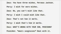 Read Chapter Percy from the story Percy Jackson- Madness by (Ella :)) with reads. Percy Jackson Head Canon, Percy Jackson Ships, Percy Jackson Quotes, Percy Jackson Books, Percy Jackson Fandom, Funny Percy Jackson, Poseidon Percy Jackson, Percy Jackson Birthday, Percy Jackson Cabins