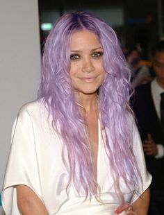 pastel hair violet - Coloration Violet Pastel