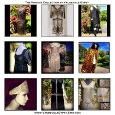 Highlights from Vaudeville Gypsy's collection of high end #1920s and earlier #costume pieces. #VintageFashion