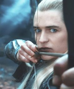 Legolas. Sorry Orlando, I like you as a blonde much better...