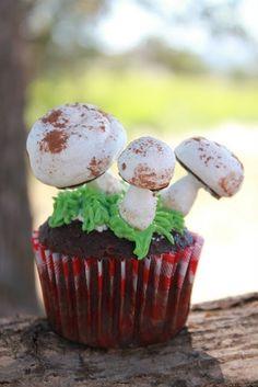 toadstool cupcakes...