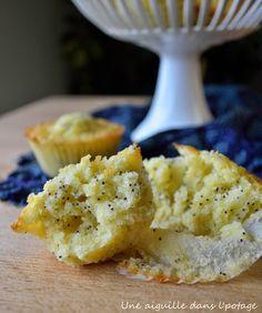 une aiguille dans l' potage: Muffins au citron et graines de pavot de Thomas Keller