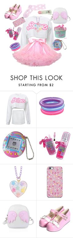 """""""I could use some company~"""" by cuppykins ❤ liked on Polyvore featuring Uncommon, Bodyline and ddlg"""