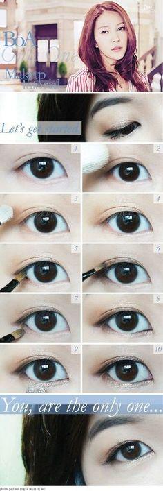 Imagem de boa, makeup, and korean