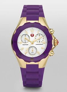 Yet another purple thing I'd TOTALLY rock.I have the purple/diamond guess watch:)