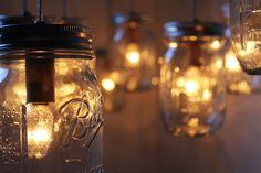 Mason Jar Chandelier Large Rustic Mason Jar Pendant Lamp Lighting Fixture by BootsNGus 10 Clear Ball Jars Bulbs Included Pot Mason Diy, Diy Mason Jar Lights, Mason Jar Chandelier, Chandelier Lighting Fixtures, Rustic Mason Jars, Deck Lighting, Mason Jar Lighting, Mason Jar Lamp, Outdoor Chandelier