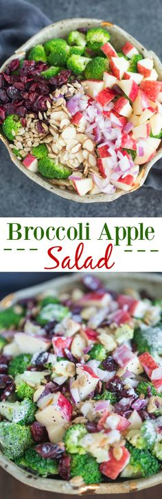 There's so much to love about this creamy, crunchy broccoli apple salad! Fresh…