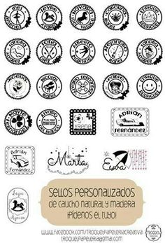Sellos personalizados Book Lovers, Stamps, Arts And Crafts, Etsy, Personalized Items, Handmade, Custom Stamps, Door Bells, Vinyls